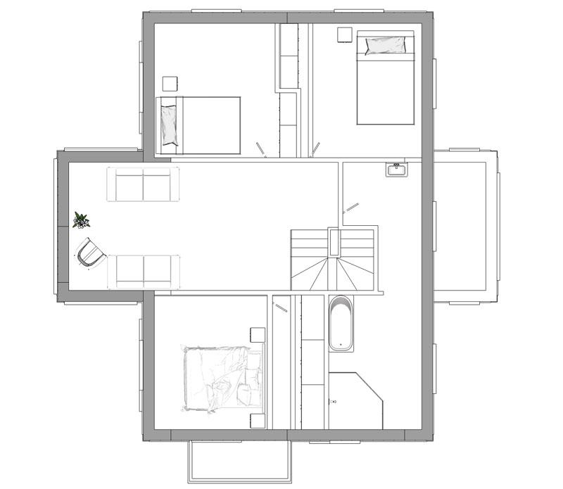 Prästgården övervåning 2